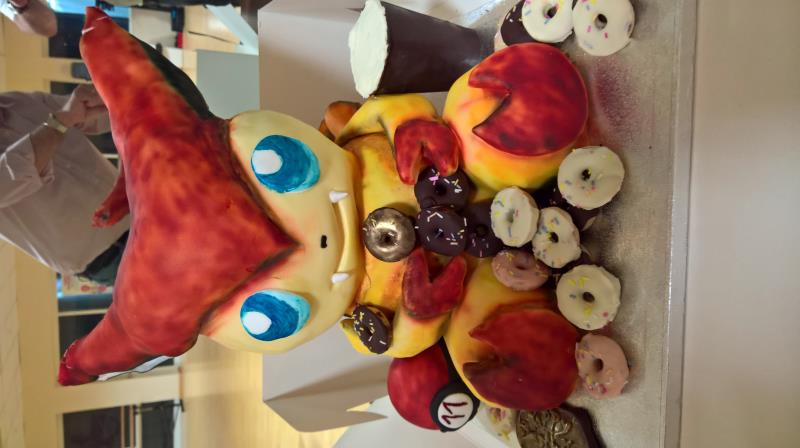 fantastic cakes made custom to your favourite anime characters!