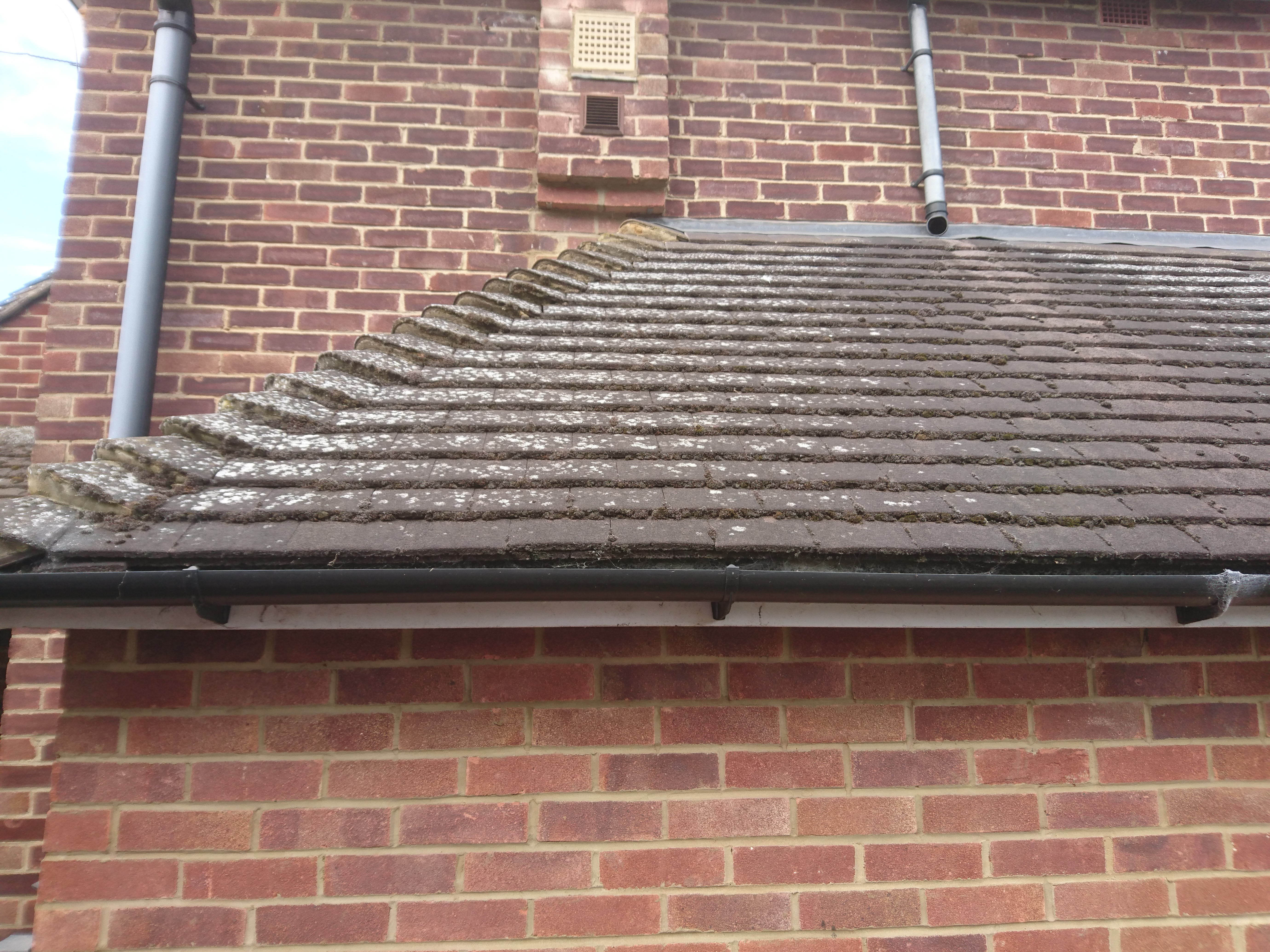 replace guttering to my low level roof.