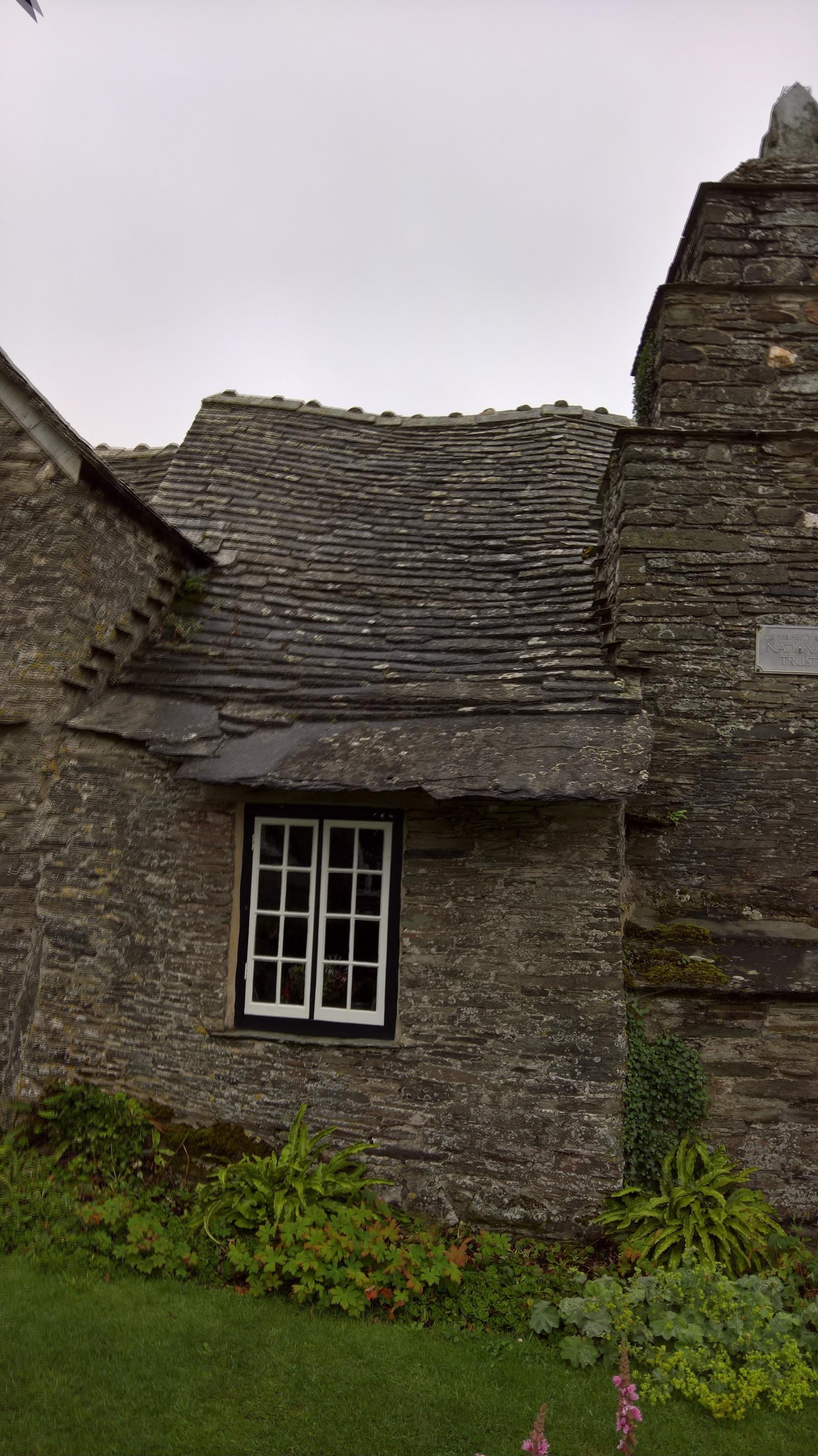 stone roof repairs might be needed.